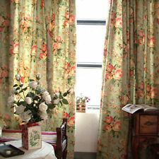 Handmade Floral Window Curtains