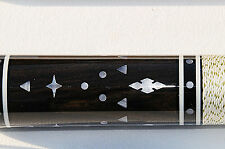 2 pc Frank Paradise Pool Cue HOF vintage series Adam/Helmstetter/ Bushka Custom