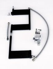 OilBud 10-16 Touring Oil Cooler  With Polished Adaptor