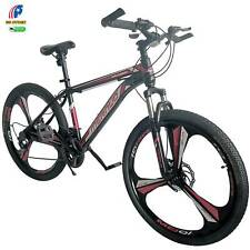 "New 26"" Front Suspension Mountain Bike 21-Speed Men's Bikes Bicycle MTB"