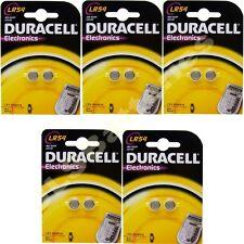 10x durcell LR54 1.5 V Pile Alcaline 189 V10GA GP189 L1131 LR1130 A120 AG10