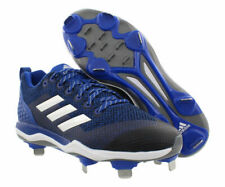 Adidas Womens PowerAlley 5 Metal Fast Pitch Softball Cleats Blue B39221 Size 7.5