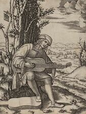 MARCANTONIO RAIMONDI ITALIAN GUITAR PLAYER ZOOLOGY PRINT POSTER BB6075A