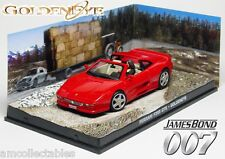 James Bond 007 Goldeneye - Ferrari F355 GTS - 1:43 Diecast Model NIP