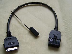 IPOD Aux Audio Cable For 2009-2013 Infiniti EX35 FX35 FX50 G35 G37 QX56