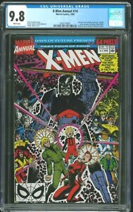 Uncanny X-Men Annual 14 - CGC 9.8 (First Cameo Appearance of Gambit) NM++
