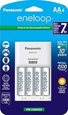 Panasonic K-KJ17MCA4BA Advanced Individual Cell Battery Charger Pack with 4 AA e