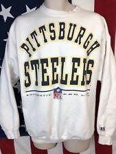 Vintage 90s 1994 Logo Nfl Pro Line Pittsburgh Steelers Sweatshirt Shirt Jersey L