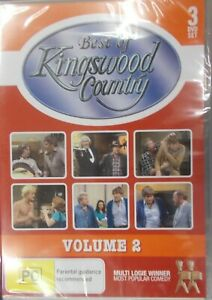 THE BEST OF KINGSWOOD COUNTRY DVD 3-DISC VOLUME 2 TWO BRAND NEW.