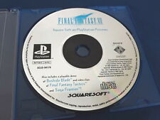 Final Fantasy VII Preview Demo for Playsation 1 / Playstation 2 Tested PS1
