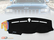 DASH MAT JEEP GRAND CHEROKEE WK2 & LTD OVERLANDER SRT8 5/2011-2020 BLACK DM1236