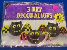 Halloween Carnival Party Hanging 3D Decorations - Bats