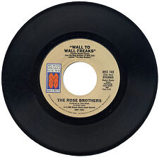 "ROSE BROTHERS  ""WALL TO WALL FREAKS""    MUSCLE SHOALS MUSIC 80's    LISTEN!"