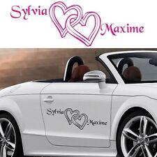 Sticker Déco voiture Mariage