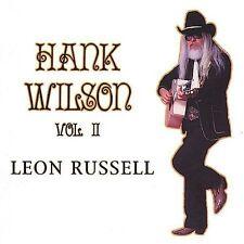 Leon Russell Hank Wilson Vol. 2   CD   FREE SHIPPING
