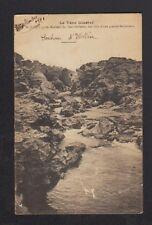 SAINT-JUERY (81) ROCHERS du SAUT du SABO lors d'une grande SECHERESSE en 1921