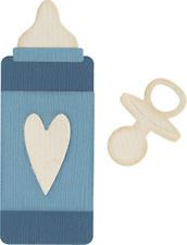 QuicKutz Lifestyle Crafts 4X4 Single Die BABY BOTTLE & PACIFIER Toddler REV-0106
