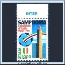 1991 Italia Calcio Scudetto Sampdoria Appendice INTER