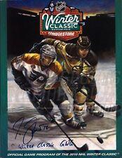 Marco Sturm Boston Bruins Signed Autograph 2010 Winter Classic Official Program