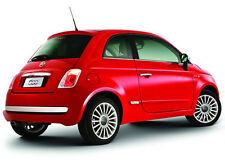 Fiat 500 chrome pare-chocs arrière insert trim new + genuine 50901687