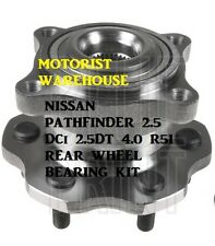 FOR NISSAN PATHFINDER 2.5 2.5DT 4.0 R51 REAR WHEEL BEARING KIT HUB ASSEMBLY ABS