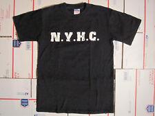 MADBALL BLACK N.Y.H.C. FLAMING MADBALL DESIGN EP SHIRT SMALL NYHC AGNOSTIC FRONT
