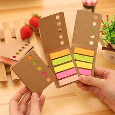 4x 480 sheet Sticker Flags Bookmark Page Marker Memo Index Tab Sticky Notes NIU