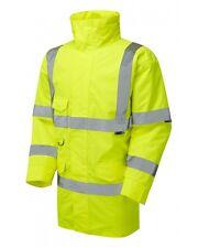 Leo Workwear Tawstock A01 Hi Vis Yellow Waterproof Jacket Class 3 Snickers Direc