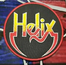 EMBROIDERED HELIX HEAVY METAL BAND PATCH