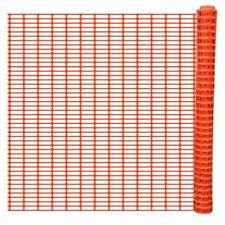 vidaXL Veiligheidshek 50 meter Oranje Afscheiding Hekwerk Omheining Hek Hekken