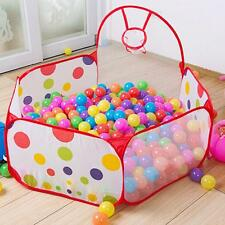 Portable Outdoor/Indoor Kids Game Play Children Toy TentOcean Ball Pit Pool HOT