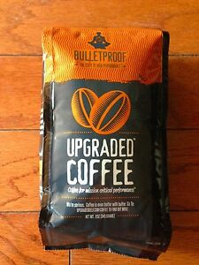 NEW, FACTORY SEALED, AWESOME BULLETPROOF UPGRADED COFFEE 12 OZ COFFEE BEANS