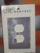 Montage Wall Outlet Cover Grey Purple New American Tack & Hardware Lightswitch