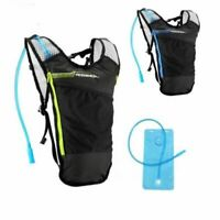 Hydration Pack Water Backpack 2L Bladder Bag Cycling Bicycle Bike Hiking durable