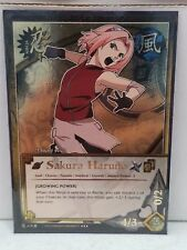 "Naruto Sakura Haruno N-419 ""Growing Power"" Super Rare NM"