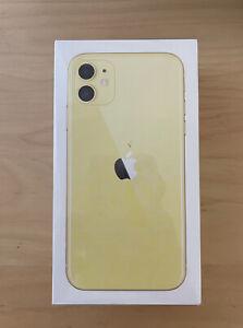Apple iPhone 11 - 256GB yellow (Unlocked) 1 Year Apple Warranty BRAND NEW SEALED