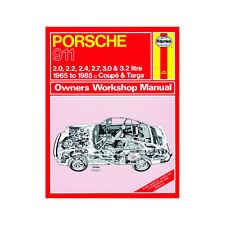 HAYNES MANUAL Porsche 911 2.0 2.2 2.4 2.7 3.0 3.2 Petrol 65-85 (Up To C Reg)