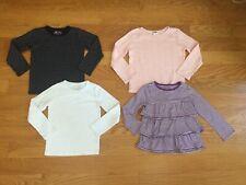 Girls LOT tees tops long sleeve Baby Gap Old Navy Gymboree size 5 5T toddler EUC