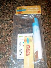 Wendy's Camp Wannago Camp Flag Includes Crayons & Stickers Kids Meal Toy NIP