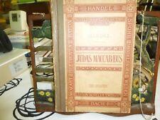 Music. Novello's Original Octavo. Judas Maccabeaus