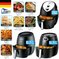 6,5 / 7 L Touch LCD Heissluft Friteuse Heißluftfritteuse Fritteuse Heißluft Uten