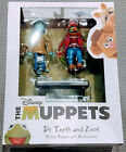The Muppets Dr. Teeth and Zoot Action Figure Set Diamond Select Toys Series 3