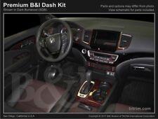Dash Trim Kit for HONDA RIDGELINE 2017 carbon fiber wood aluminum