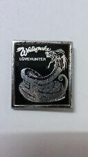 Whitesnake love hunter logo metal Vintage music badge badges 2