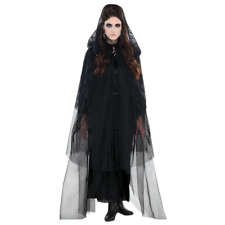 NEW Halloween   Punks Adults Gothic Lace Hooded Capes