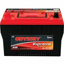 Odyssey 34-PC1500T Auto/LTV Battery W/ tin-plated brass SAE top automotive posts