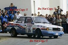 Ladislav Krecek & Borivoj Motl Skoda 130 LR San Remo Rally 1986 fotografía 1