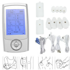 16 Modes Tens Pulse Unit Electric Pain Relief Massager Muscle Stimulator Therapy