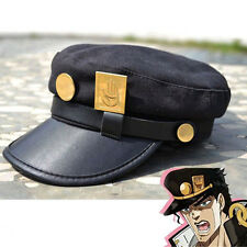 New Cool Anime JoJo Jotaro Kujo Cap Hat Badge Gift Cosplay Collectibles