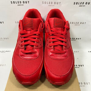 "Nike Air Max 90 ""TRIPLE RED"" 2020 - Size 12 - CZ7904 001 (12775-2)"